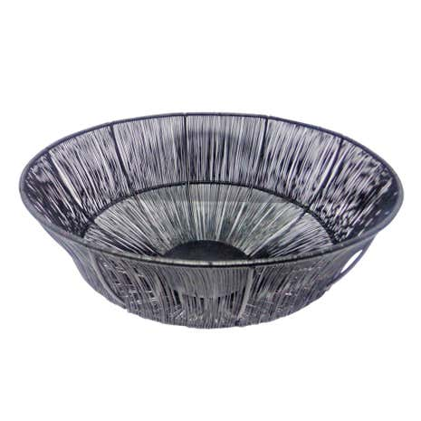 Black Wire Bowl