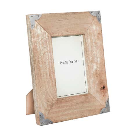 Brown Wooden Cargo Photo Frame