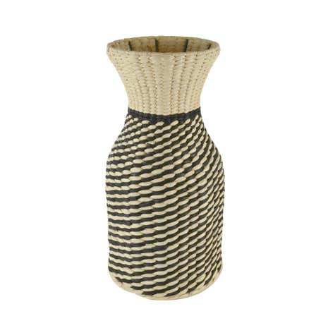 Natural Woven Vase