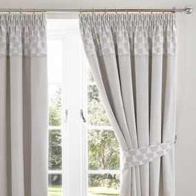 Archie Bear Nursery Blackout Pencil Pleat Curtains