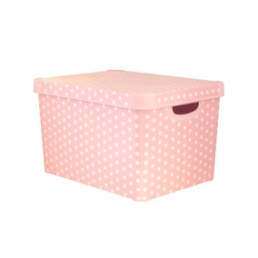 Kids Dusky Pink Storage Box