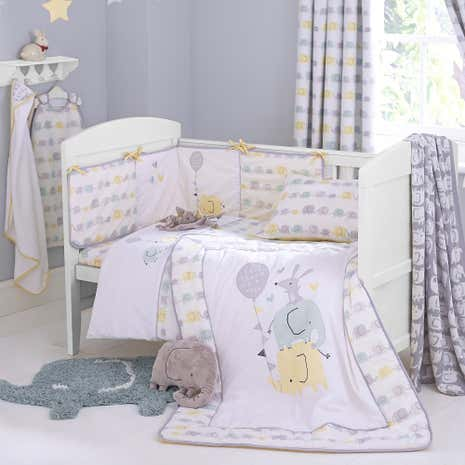 Ellie and Friends Nursery Duvet Cover and Pillowcase Set