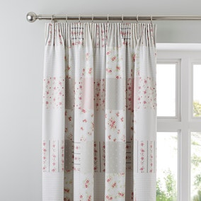 Katy Rabbit Thermal Pencil Pleat Curtains