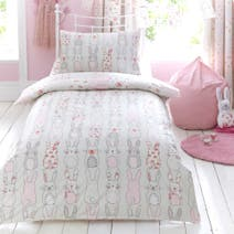 Kids Katy Rabbit Duvet Cover Set