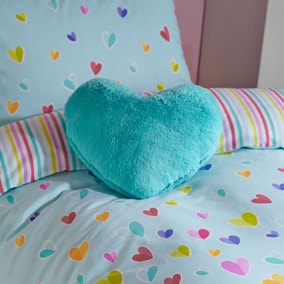 Kids Scattered Hearts 3D Cushion