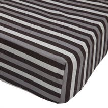 Kids Black Stars Fitted Sheet
