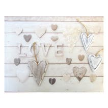 Love 3D Wall Plaque