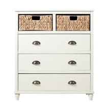 Portland Cream 5 Drawer Chest