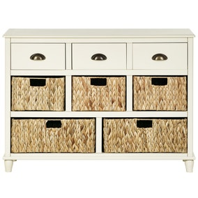Portland Cream Large Sideboard