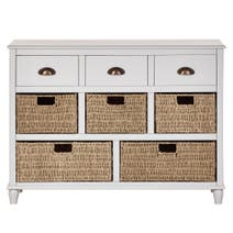 Portland Grey Large Sideboard