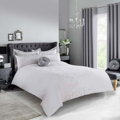 Claire Grey Duvet Cover