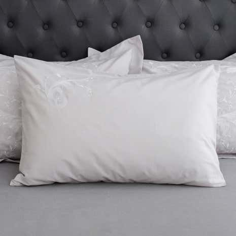 Claire Grey Housewife Pillowcase