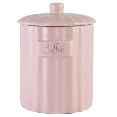 Pretty Pastels Coffee Canister