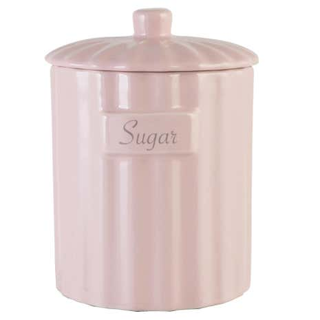 Pretty Pastels Sugar Canister