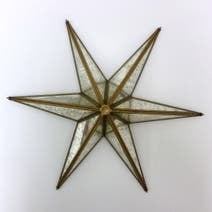 Gold Star Wall Art
