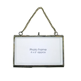 Metal Edged Hanging Photo Frame