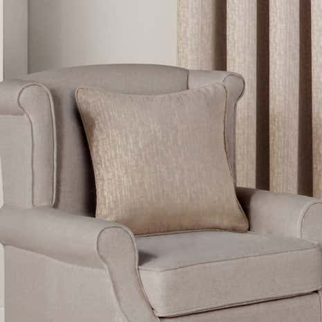 Hotel Rome Natural Filled Square Cushion