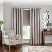 Hotel Oyster Venice Blackout Eyelet Curtains