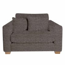 Elements Mason Poeme Charcoal Snuggle Chair