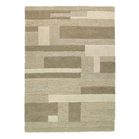 Extra Large Blanche Wool Rug