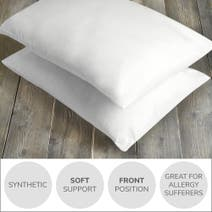 Soft and Cosy Soft-Support Pillow Pair