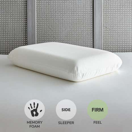 Temperature Reactive Memory Foam Firm-Support Pillow