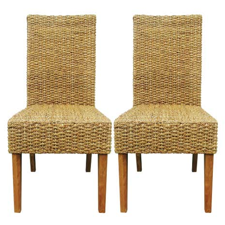 Ava Hyacinth Pair of Dining Chairs