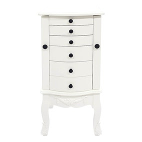 Toulouse White 6 Drawer Chest