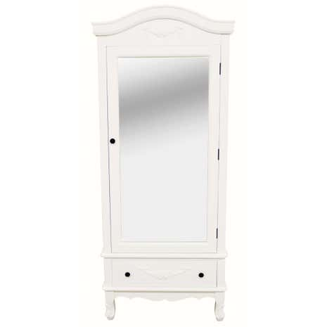 Toulouse White Single Wardrobe