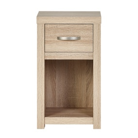 York 1 Drawer Bedside Table