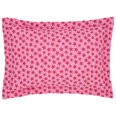 Kids Ditsy Star Oxford Pillowcase