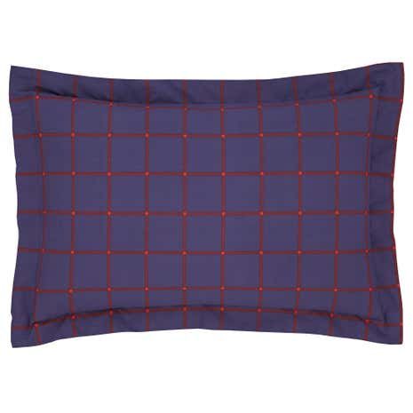 George Check Oxford Pillowcase