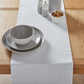 Purity Ribbed Table Runner
