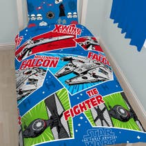 Star Wars Spacecrafts Duvet Cover Set