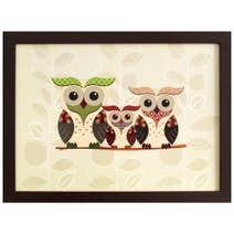 Family Hoot Lap Tray
