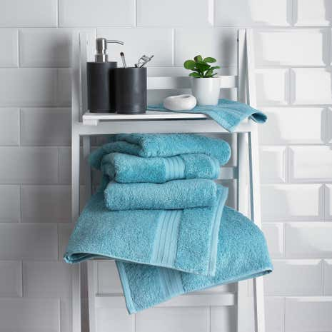 Lagoon Egyptian Cotton Towel