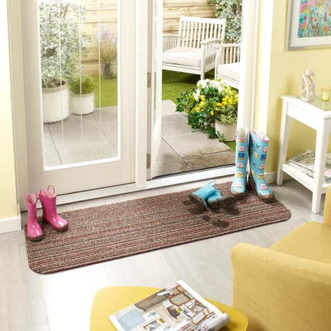 Marvel Mat Candy Stripe Washable Runner