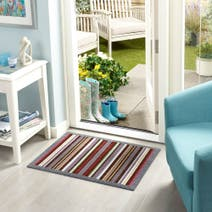 Marvel Washable Striped Mat