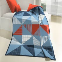 Kids Cool Patchwork Thermosoft Blanket