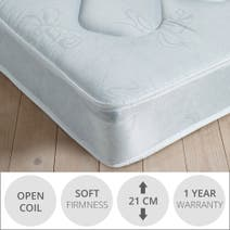Essentials Open Coil Soft Mattress