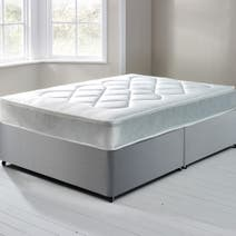Essentials Open Coil Soft Platform Top Divan Set with 2 Drawers