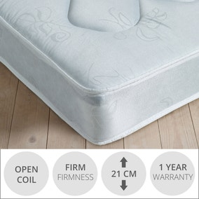 Essentials Open Coil Firm Mattress