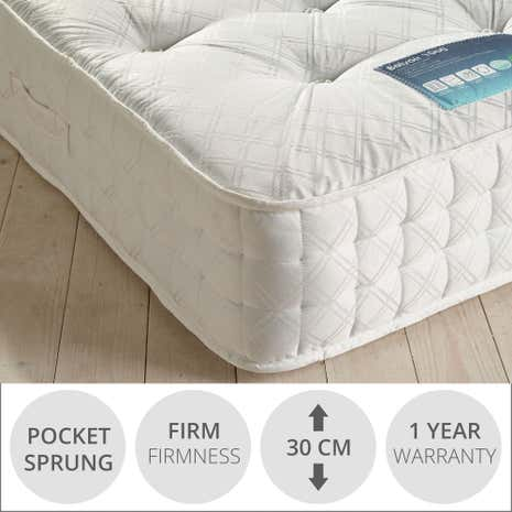 Belvoir 1000 Pocket Sprung Firm Mattress