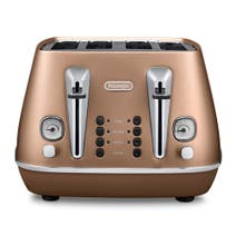 DeLonghi Distinta CTI2003 Matte Copper 4 Slice Toaster