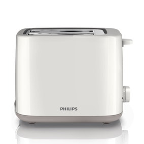 Philips HD2595/01 Daily White 2 Slice Toaster