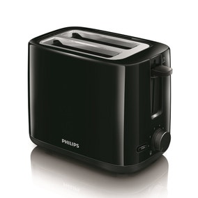 Philips HD2595/91 Daily Black 2 Slice Toaster
