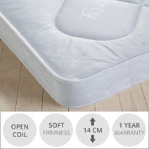 Little Sleepers Open Coil Mattress