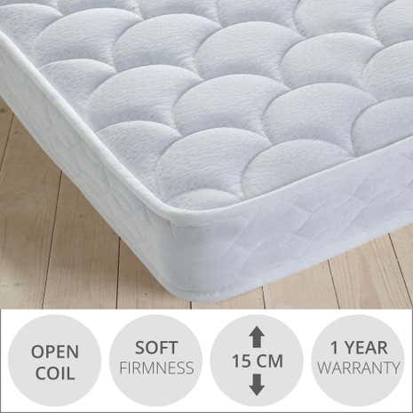 Fogarty Little Sleepers Anti-Allergy Mattress