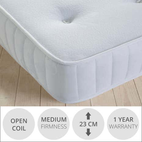 Fogarty Anti-Allergy Open Coil Mattress