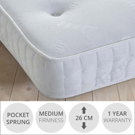 Fogarty Anti-Allergy 1000 Pocket Spring Mattress